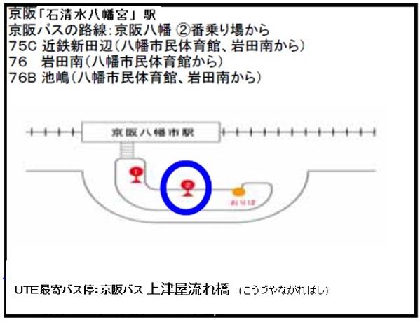 UTE-京阪石清水八幡宮