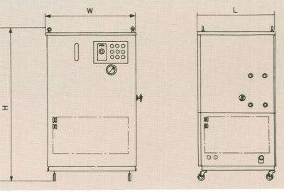 ウォータークーリングユニット(循環水冷式冷却装置)
